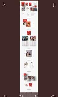 [COD] red velvet season greetings