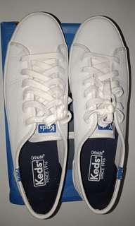 KEDS LEATHER WHITE