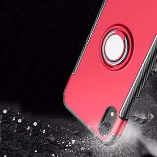 Magnetic 360 Ring Armour Case for Iphone Xr