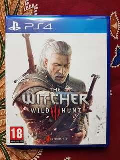 PS4 The Witcher 3 Wild Hunt (Used)