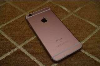 Iphone 6s 16gb Rosegod