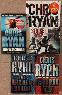 Chris Ryan book collection