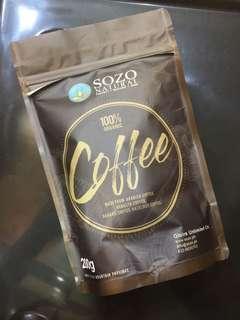SOZO 100% Organic Coffee