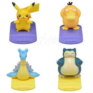 [PO] ASSORTED PHONE STAND [POP & COLORFUL] - POKEMON CENTER EXCLUSIVE
