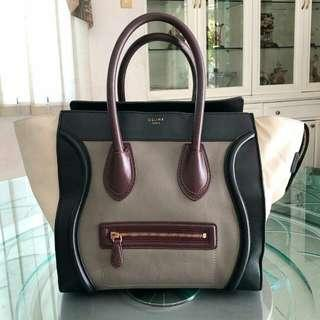 Celine Mini Tri Color