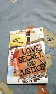Novel Love, Secret and Justice