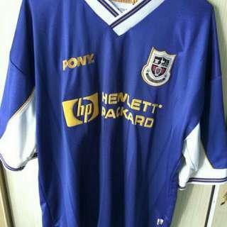 🚚 Tottenham hotspur pony 1997-98 away shirt size L