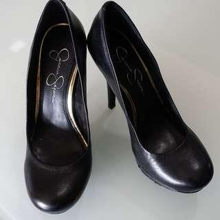 Jessica Simpson Black Rounded Pumps Size 7