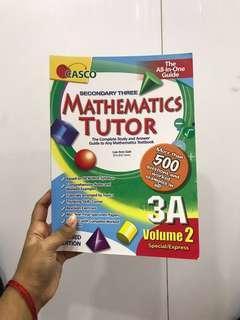 Casco mathematics tutor 3A (volume 2) secondary three