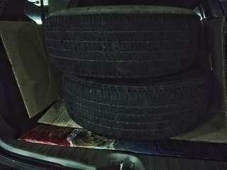 2 pcs. Bridgestone Dueler 265/65 R17