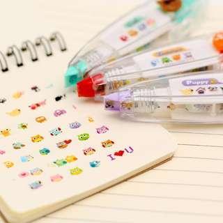 🚚 ♨️ PROMOTION!!! Decorative Stickers Roll Pen ♨️