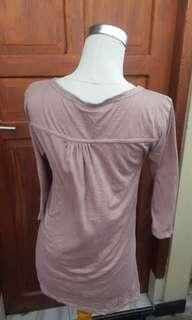 Blouse pink polos