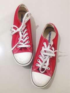 Red Converse 100% Authentic
