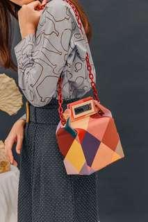 Box Chain Bag Colourful (POP&SUKI)