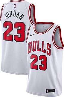 Nike Chicago Bulls Michael Jordan Swingman Jersey Ao2916-100 White