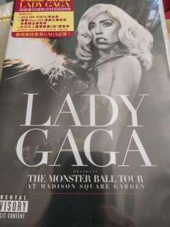 lady gaga concert dvd