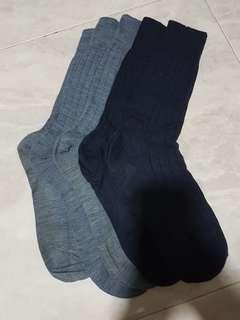 Pantherella Merino Wool Dress Socks (Sz M)