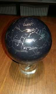 Rotating Globe using solar energy