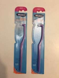 Wisdom interspace small toothbrush