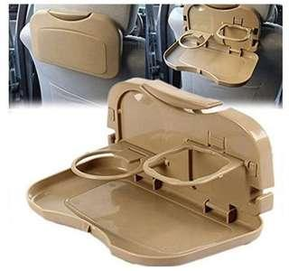 Car backseat food tray