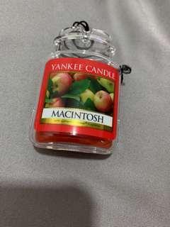 Yankee candle Macintosh car scent