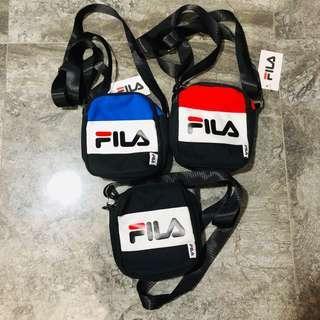 (READY STOCKS) fila inspired unisex sling bag