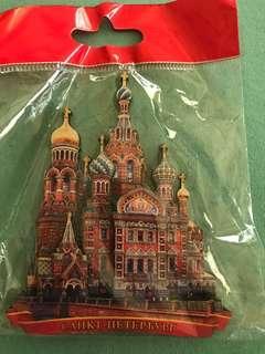 St. Petersburg 3D Ref Magnet