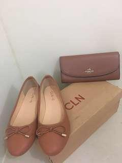 Bundled CLN Shoes and REPRICED Coach Wallet selling low