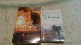 Novels by Nicholas Sparks