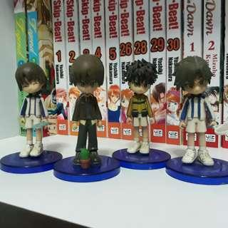 Prince of tennis figures for P200