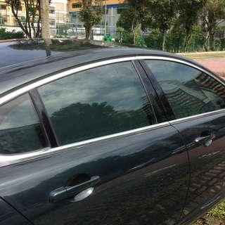 Jaguar XJ Customised Curtain - Can Slide - Not those magnetic shade