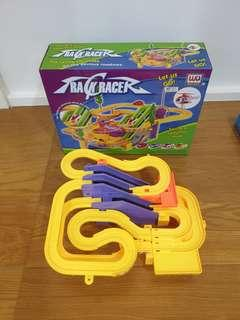 Track racer set with music