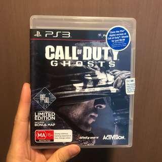 [只求快速賣出~] 全新 PS3 Call of Duty Ghosts Limited Edition 電子遊戲 Playstation 3