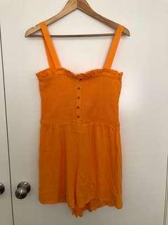 Orange Playsuit (14)