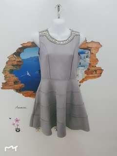 🚚 秋冬鷺皮絨洋裝《L》