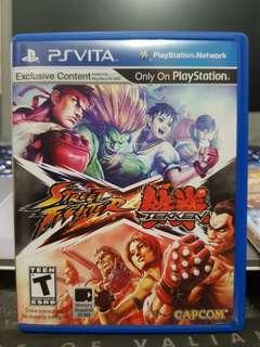 PSVITA Street Fighter X Tekken