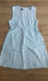 Mango soft denim dress