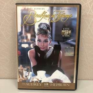 [只求快速賣出~] 全新 Breakfast at Tiffany's The Audrey Hepburn Widescreen Collection 第凡內早餐 珠光寶氣 DVD VCD