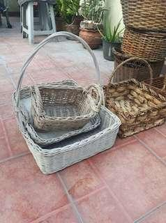 Assorted Native Baskets (overruns 35 to 40 pcs)