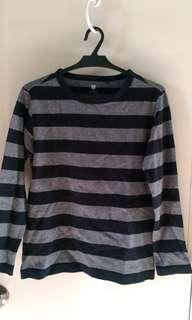 Uniqlo Stripes Longsleeve Top