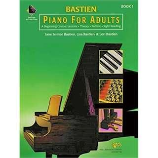 BASTIEN PIANO FOR ADULTS BOOK 1