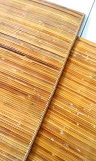 Hand woven rattan floor mat (Tikar Lampit) #SINGLES1111