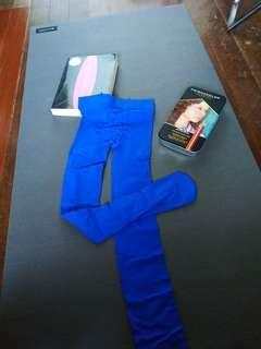 Dark blue stockings
