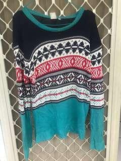 Tribal Sweater / Jumper Knit