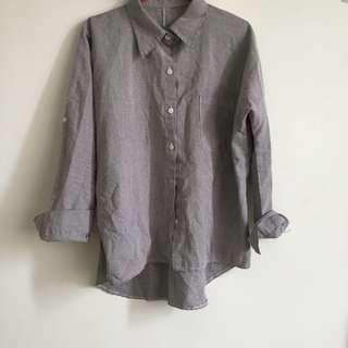 chekered women shirt