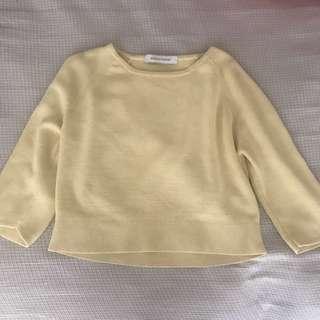 Scanlan Theodore crepe crop knit top