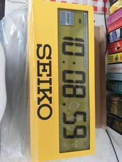 Branded new Seiko alarm clock  ltd edition  world wide 300pcs