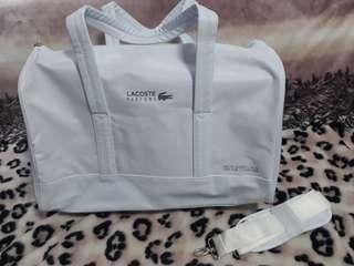 f8d793a84a lacoste bag white | Luxury | Carousell Singapore