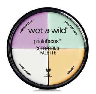🚚 [Wet N Wild] Photo Focus Correcting Palette #single11