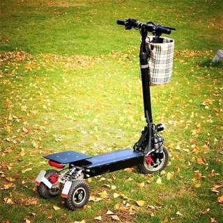 Looking for this three wheels e-scooter
